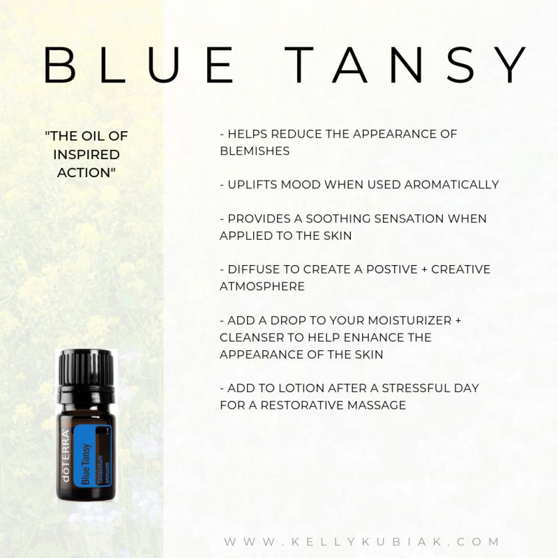 Blue Tansy doTERRA