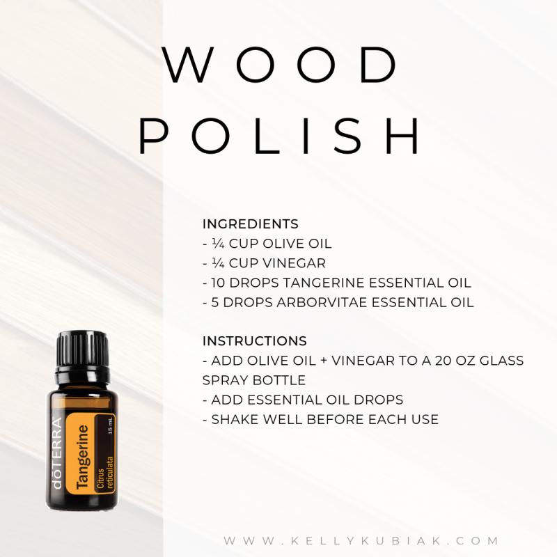 Wood Polish DIY