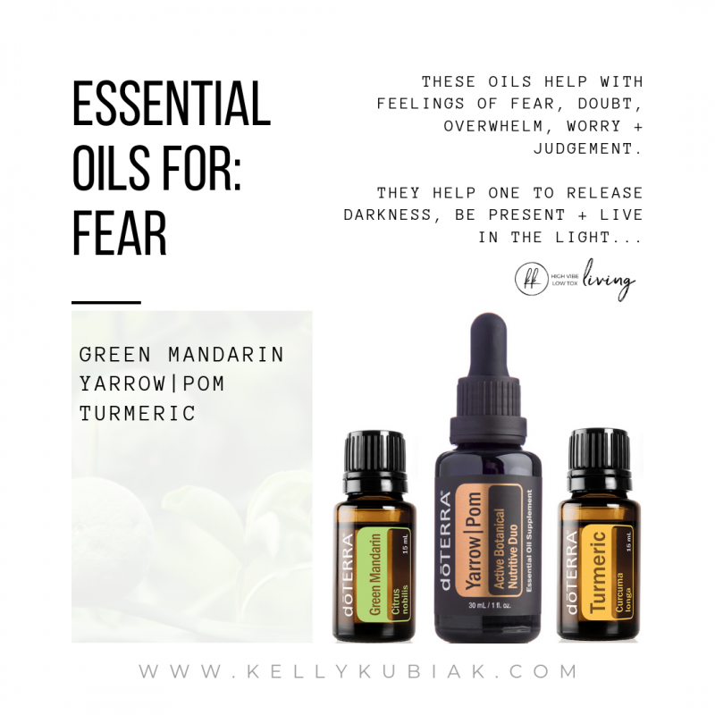 Essential Oils for Fear