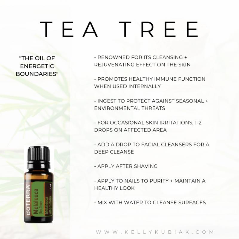 doTERRA Tea Tree