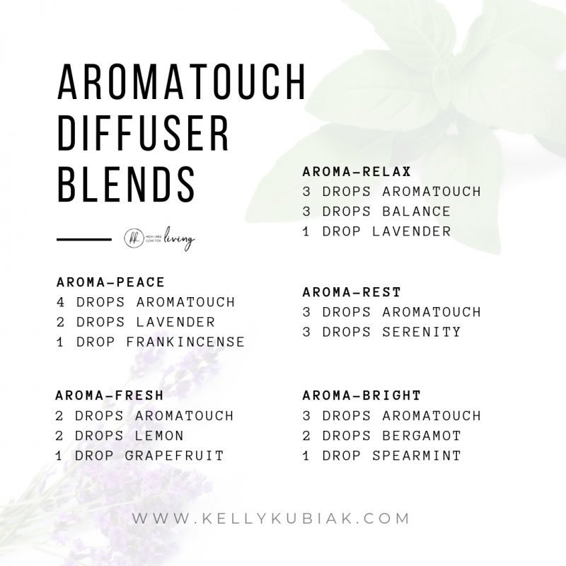 AromaTouch Diffuser Blends