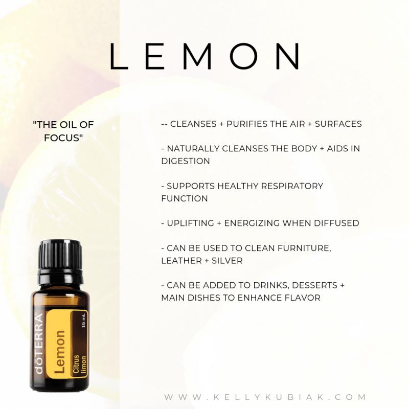 Lemon doTERRA