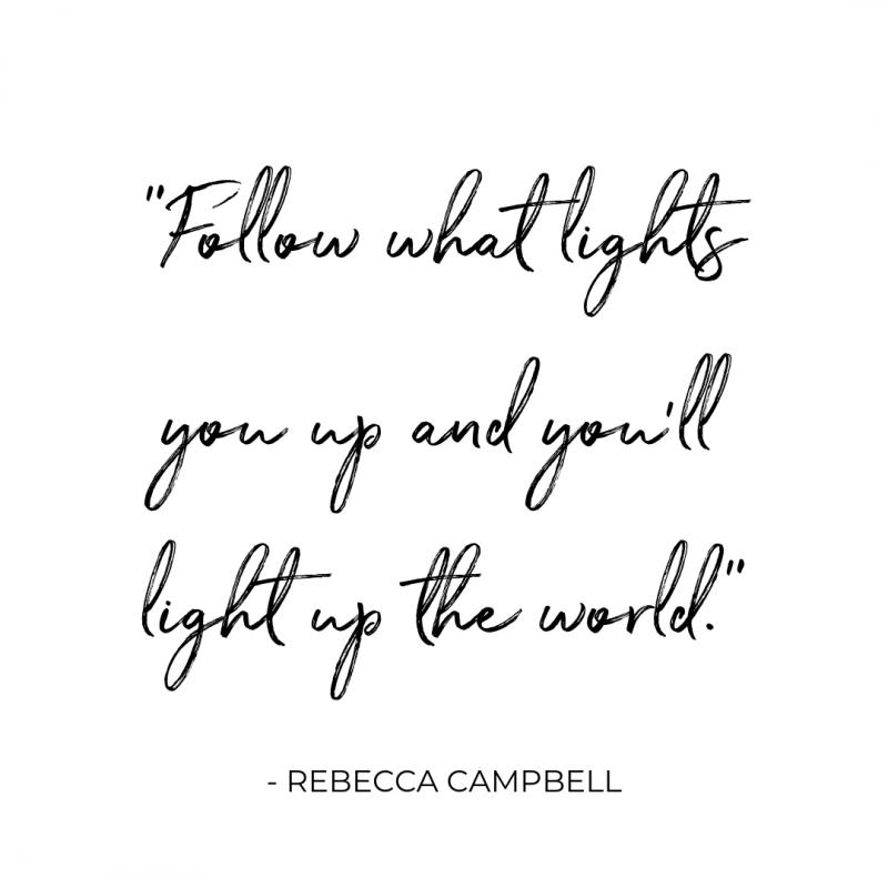 Rebecca campbell quote