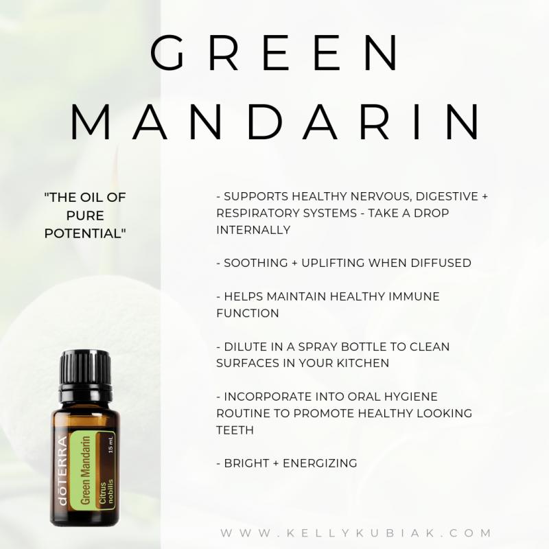 Green Mandarin doTERRA