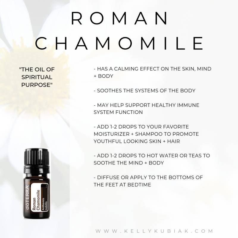 Roman Chamomile doTERRA