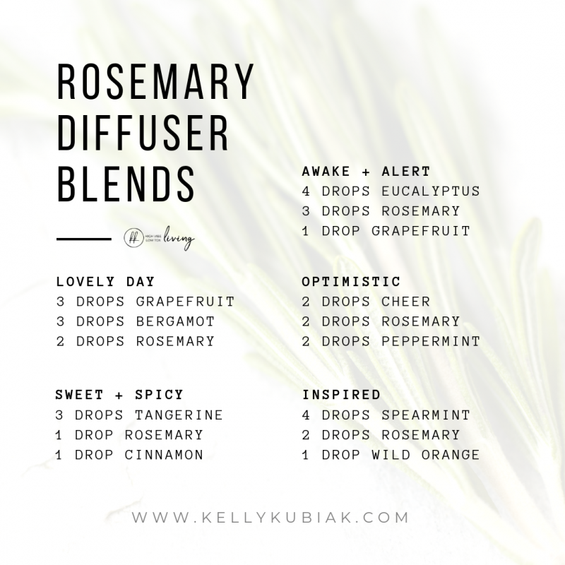 Rosemary Diffuser Blends