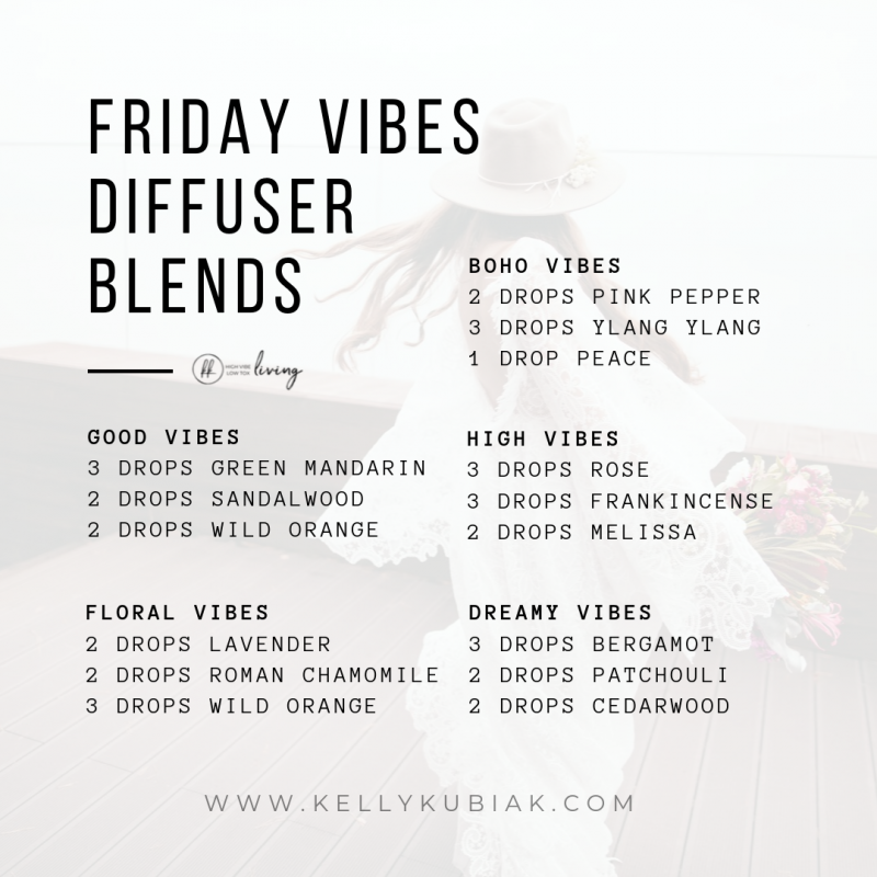Friday Vibes Diffuser Blends