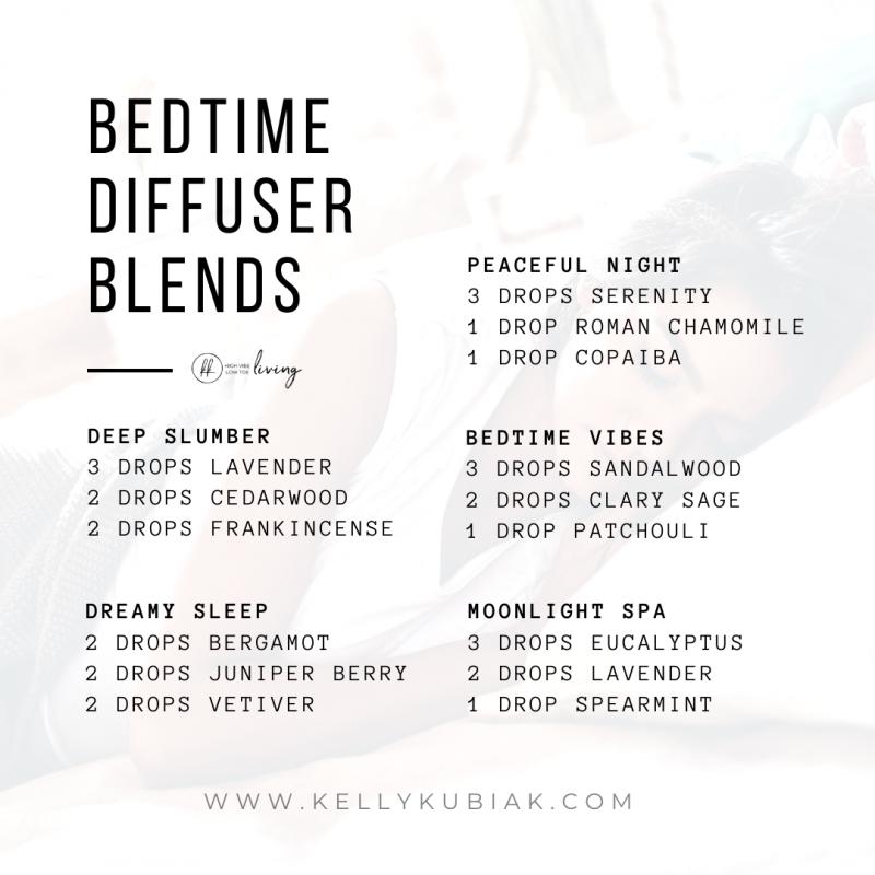 Bedtime Diffuser Blends