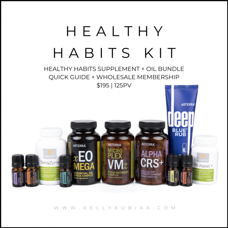Healthy Habits Kit doTERRA