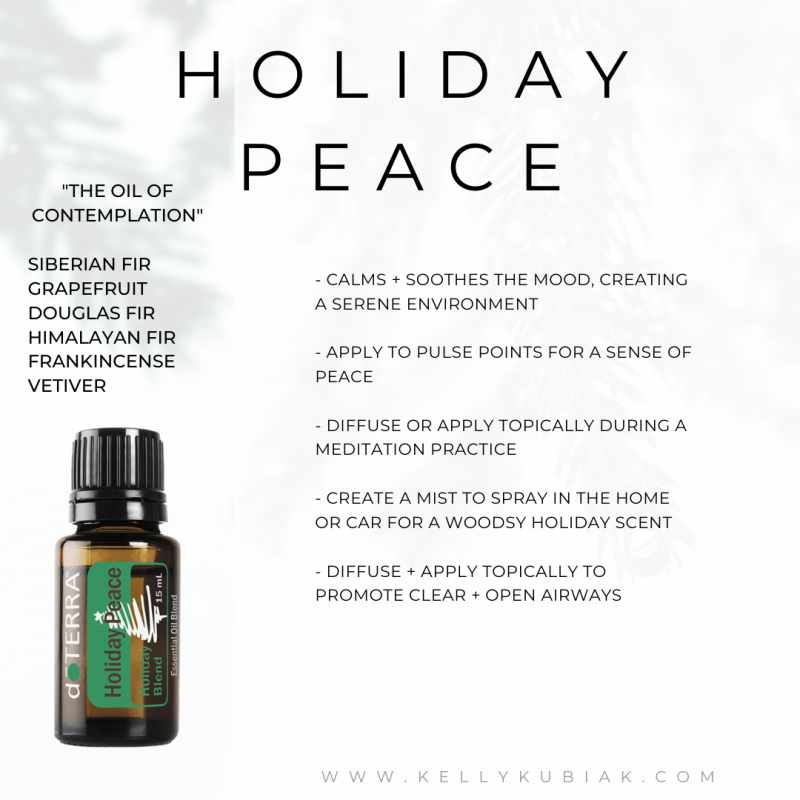 Holiday Peace doTERRA