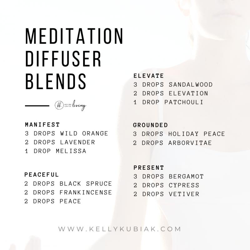 Meditation Essential Oil Diffuser Blends