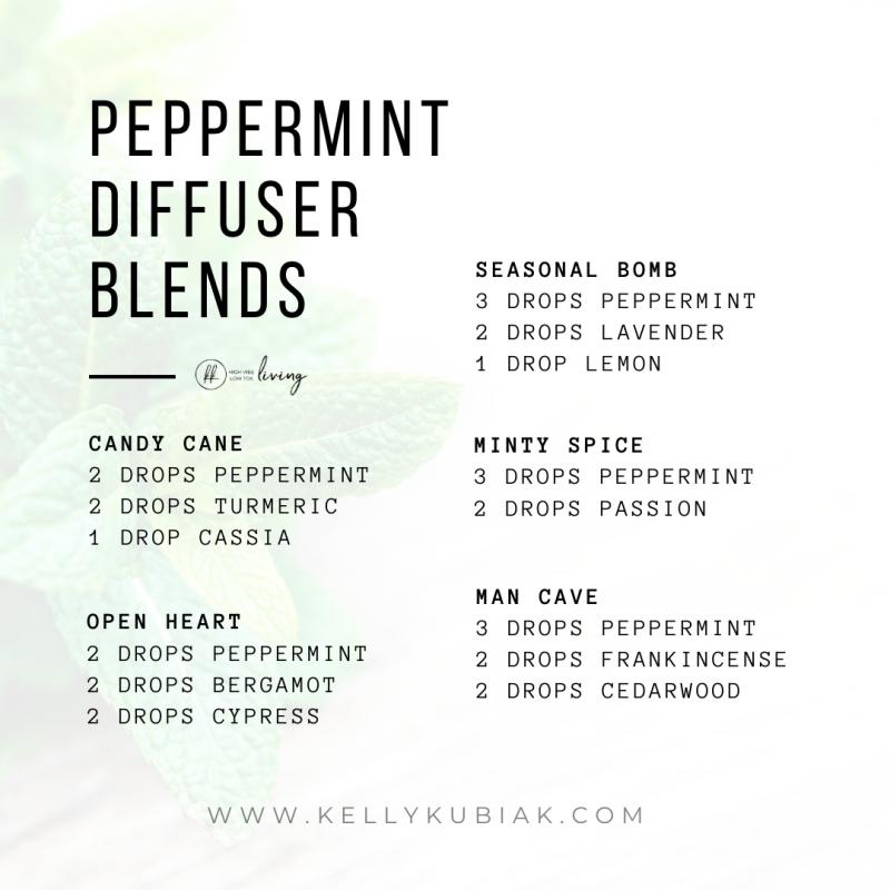 Peppermint Diffuser Blends