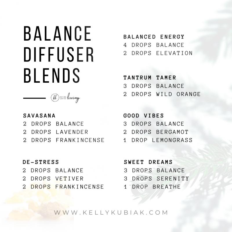 Balance Diffuser Blends