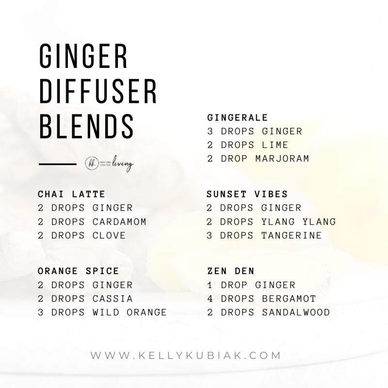 Ginger Diffuser Blends