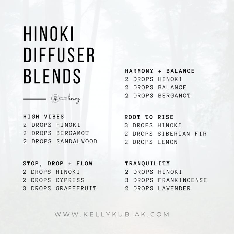 Hinoki Diffuser Blends