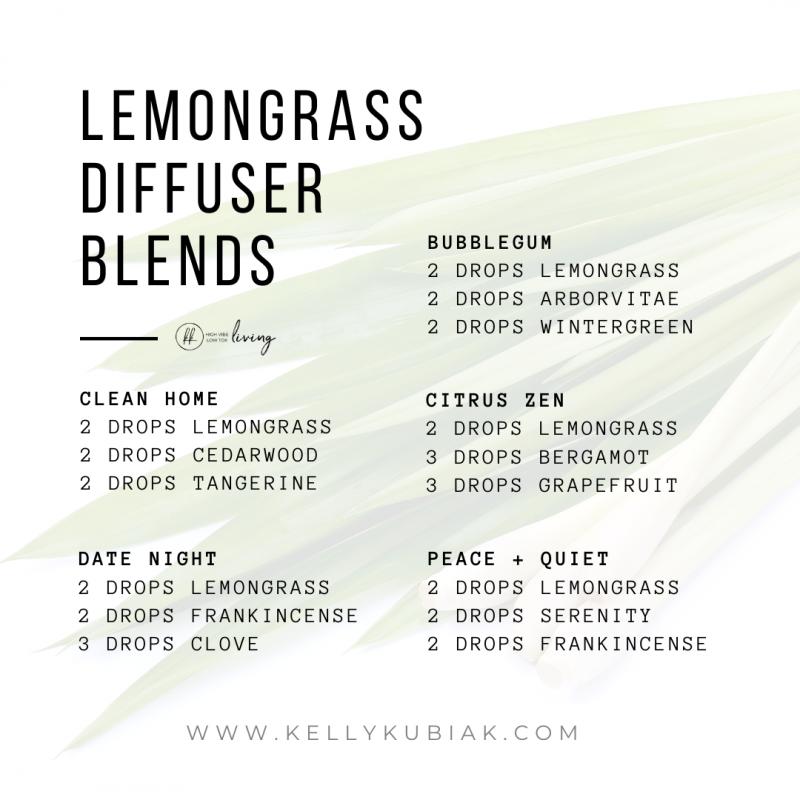 Lemongrass Diffuser Blends