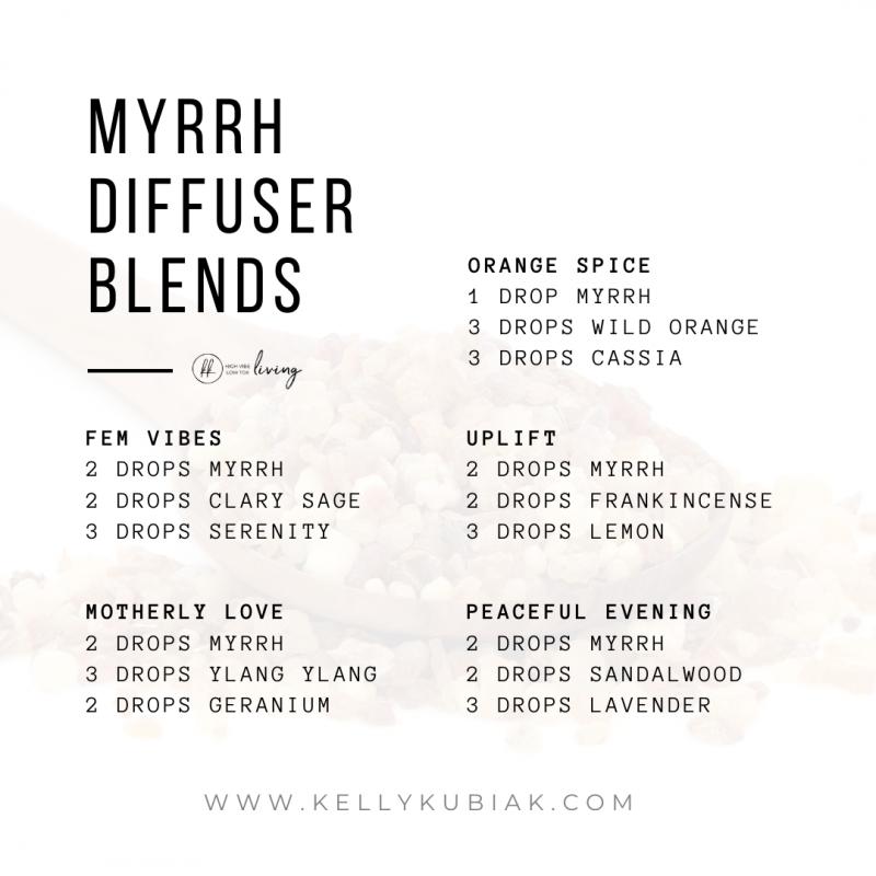 Myrrh Diffuser Blends