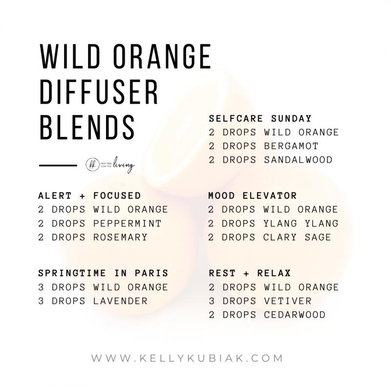 Wild Orange Diffuser Blends