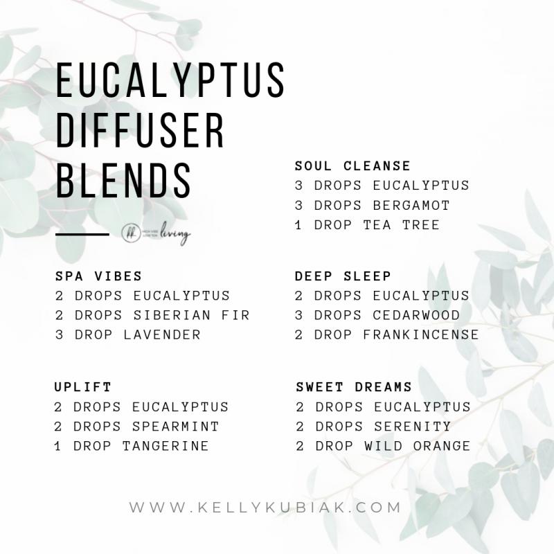 doTERRA Eucalyptus Diffuser Blends