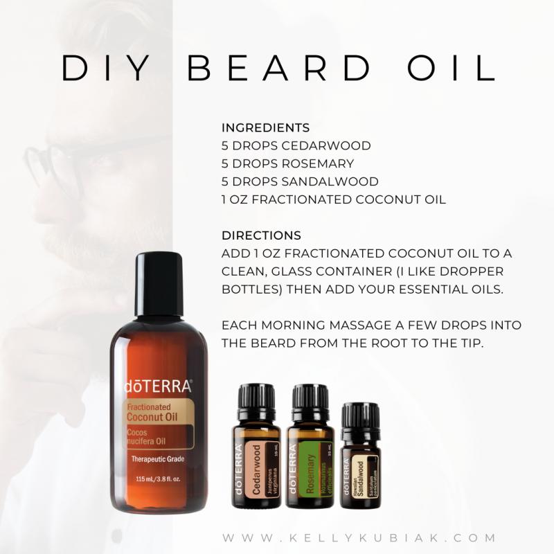 DIY Beard Oil doTERRA Essential Oils