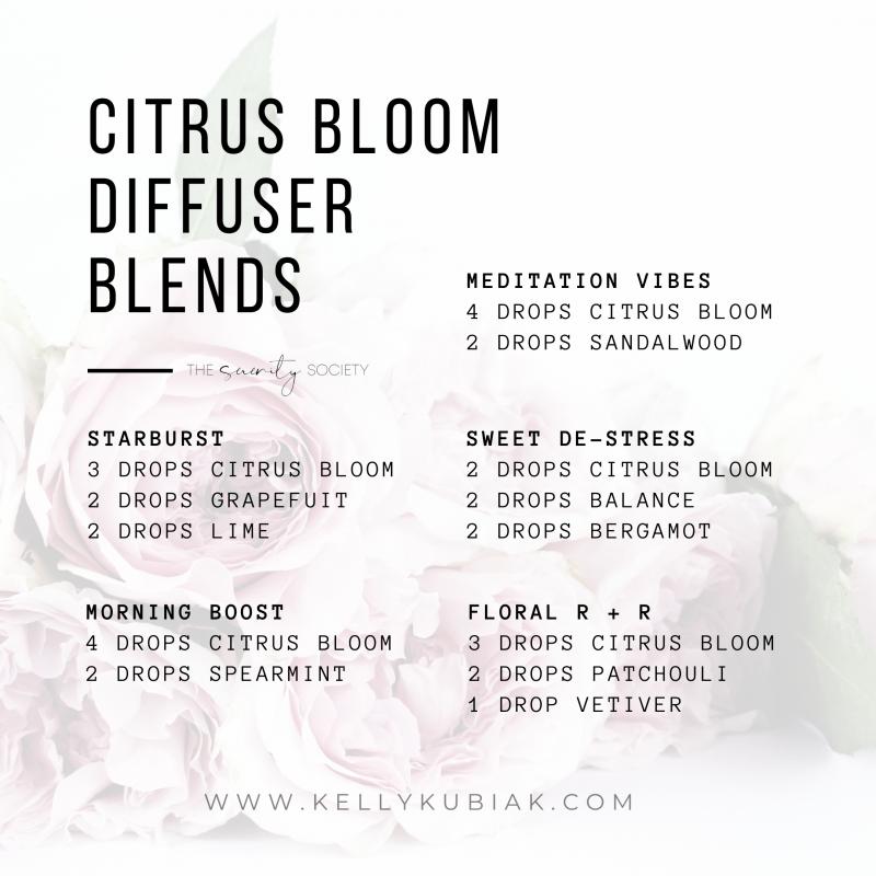 Citrus Bloom Diffuser Blends