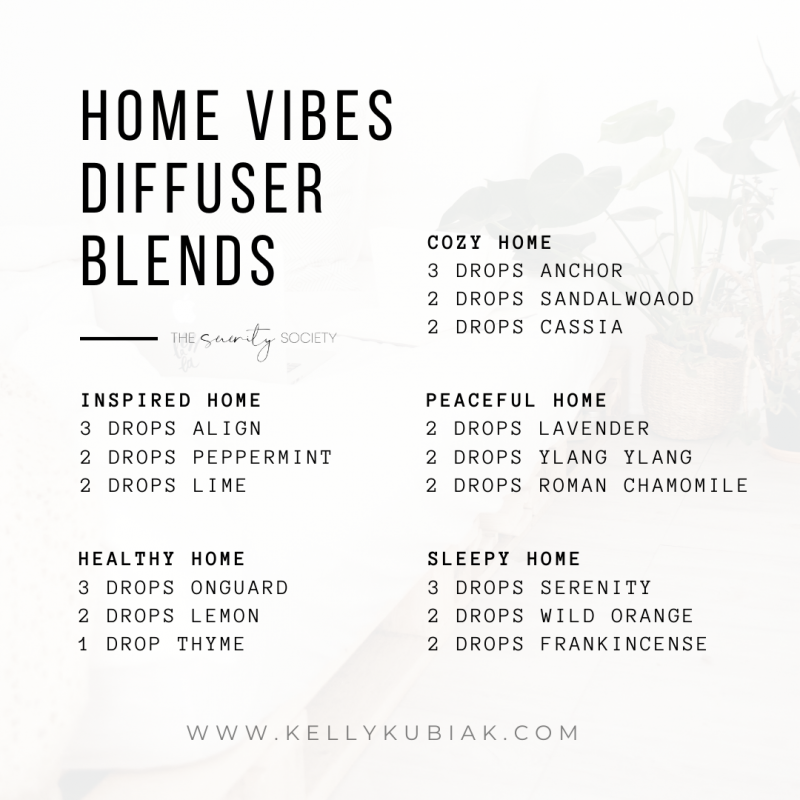 doTERRA Home Vibes Diffuser Blends