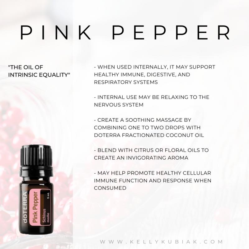 Pink Pepper doTERRA