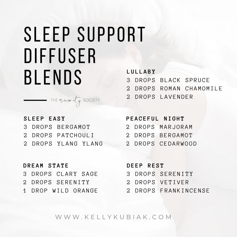 Bedtime Diffuser Blends doTERRA Essential Oils