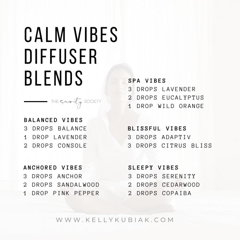 Calm Vibes Diffuser Blends doTERRA Essential Oils