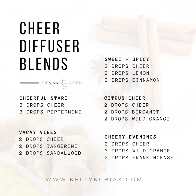 Cheer Diffuser Blends doTERRA Essential Oils