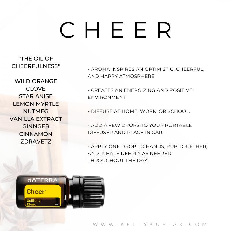 Cheer doTERRA Essential Oils