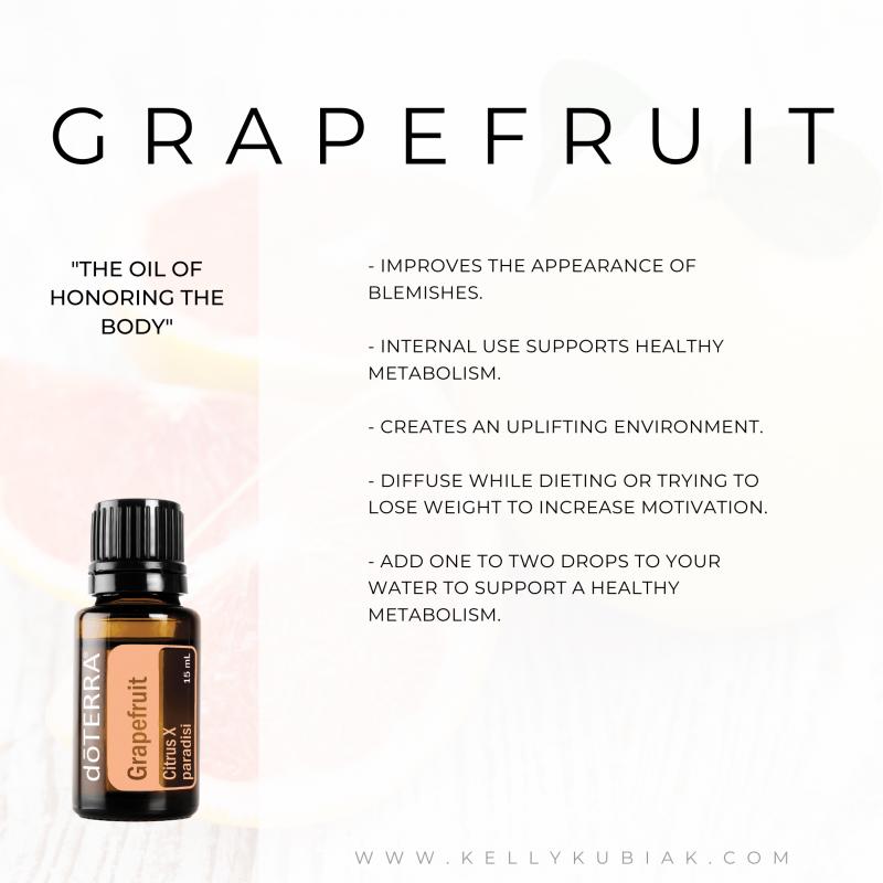 Grapefruit doTERRA Essential Oils
