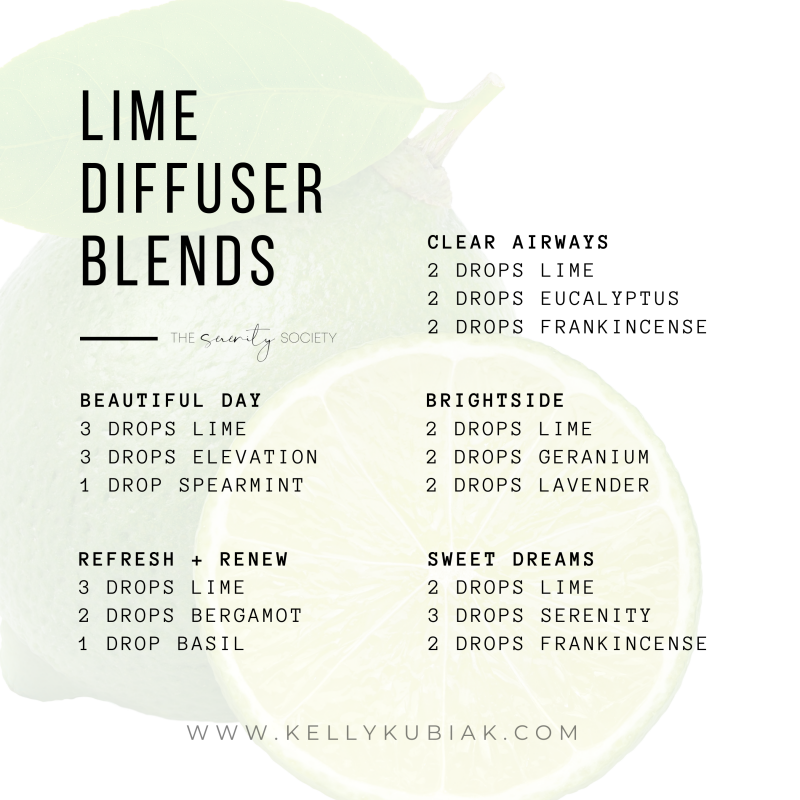 Lime Diffuser Blends doTERRA Essential Oils