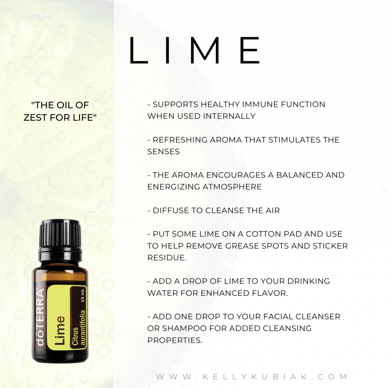 Lime doTERRA Essential Oils