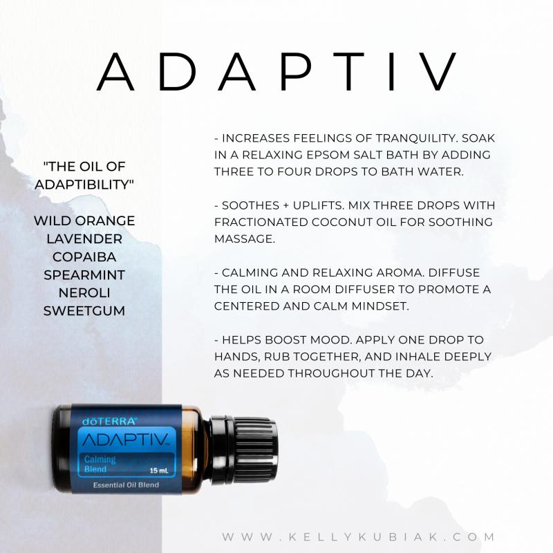 Adaptiv doTERRA Essential Oils