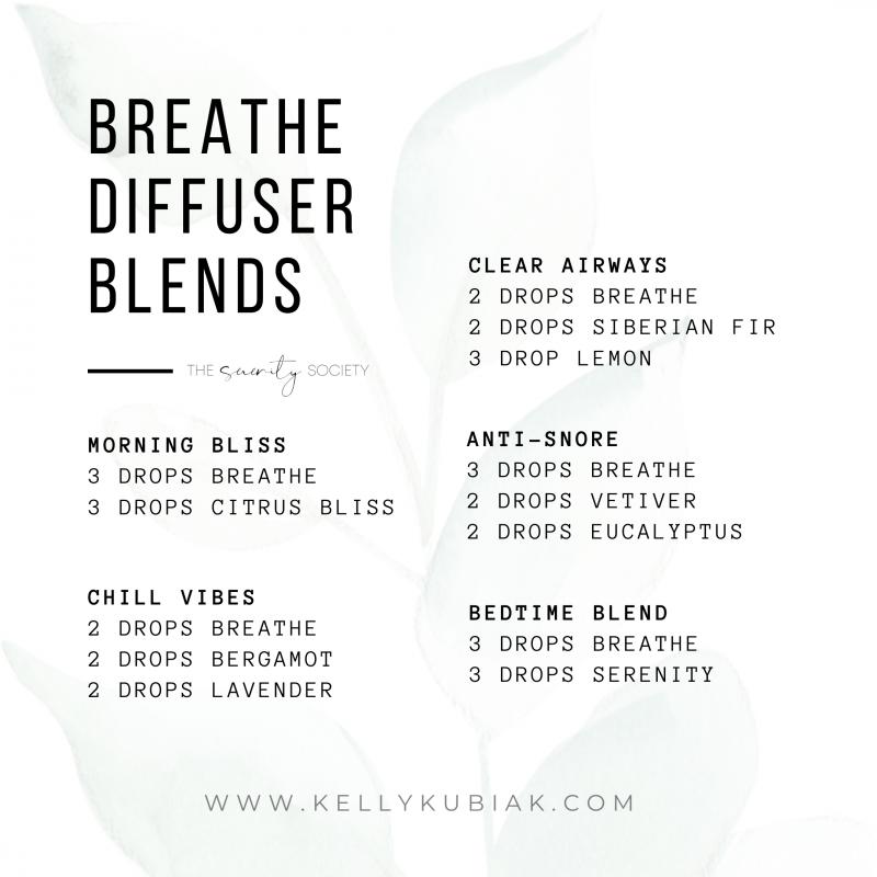 Breathe Diffuser Blends doTERRA Essential Oils