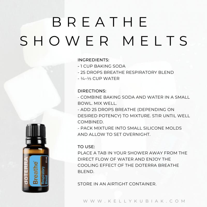 Breathe Shower Melts doTERRA