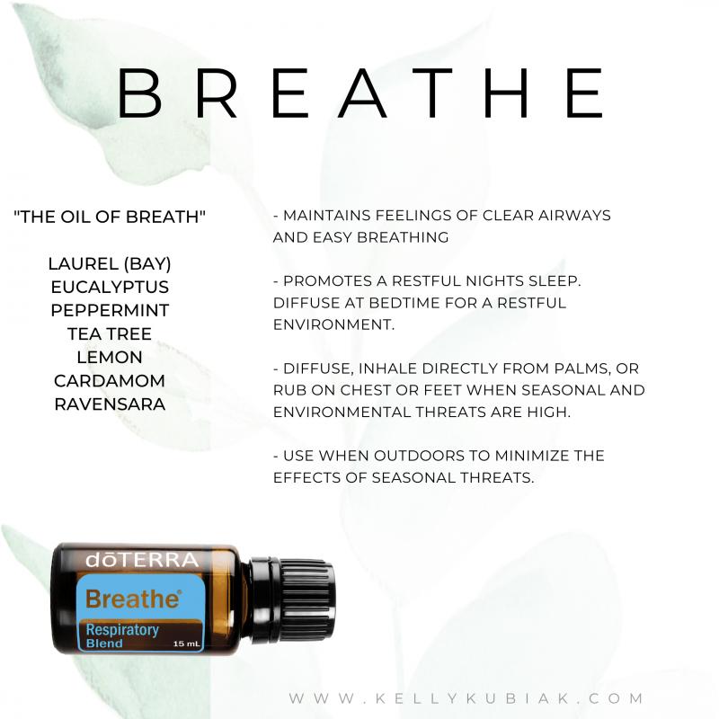 Breathe doTERRA Essential Oils