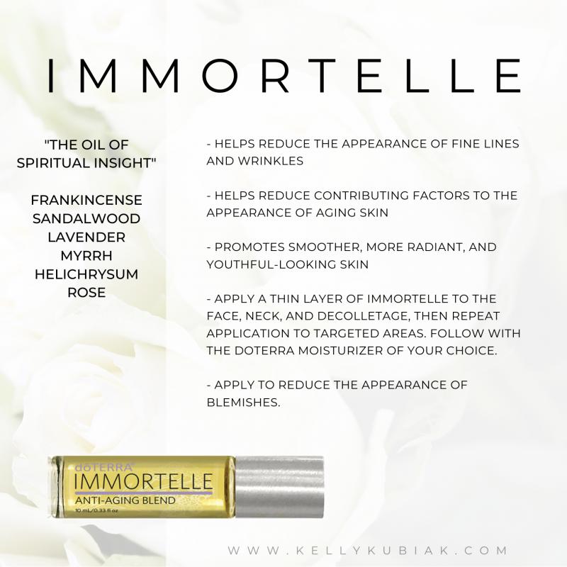 Immortelle doTERRA Essential Oils