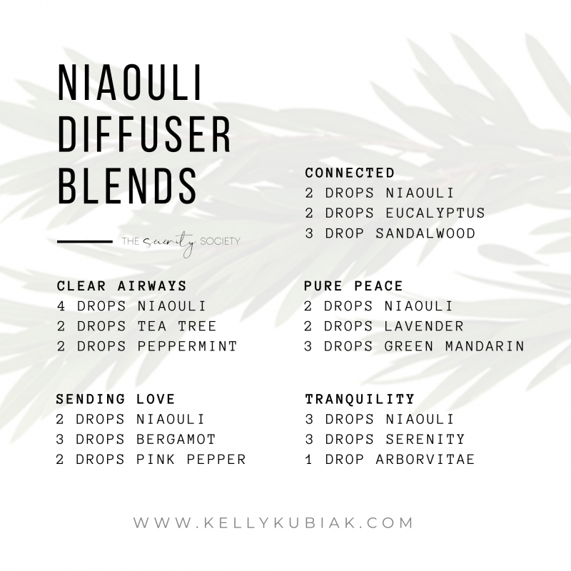 Niaouli Diffuser Blends