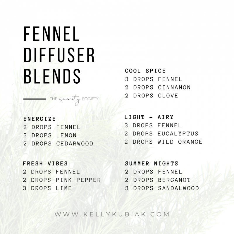Fennel Diffuser Blends