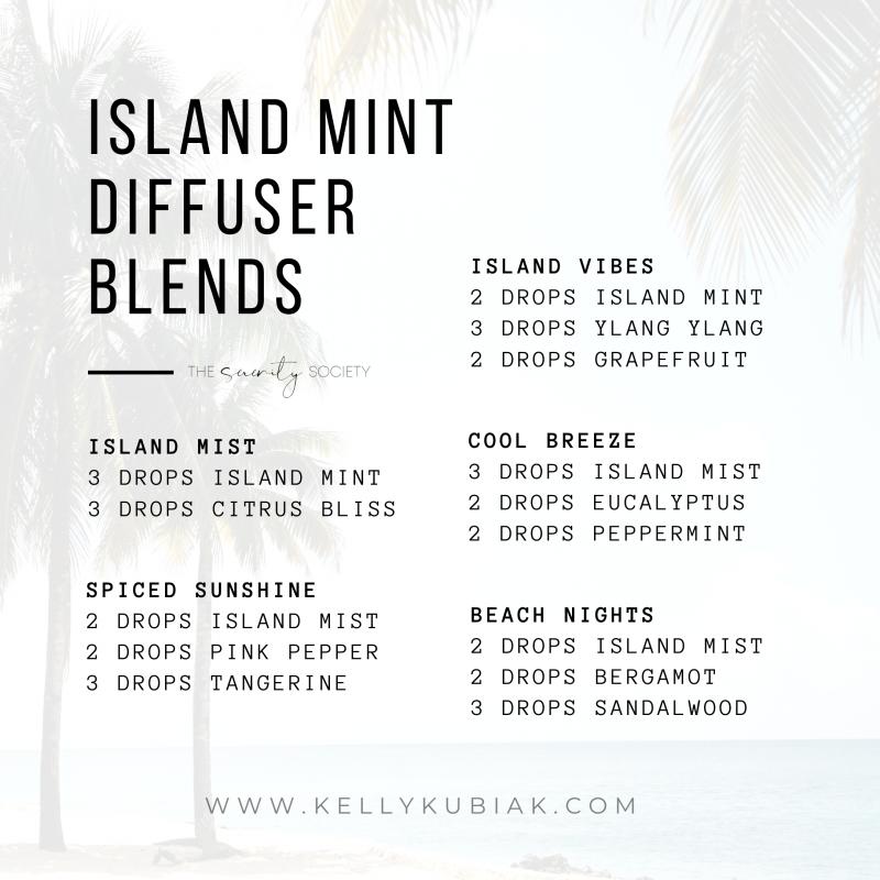 doTERRA Island Mint Diffuser Blends