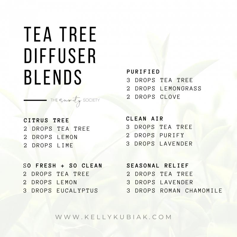 doTERRA Tea Tree Diffuser Blends