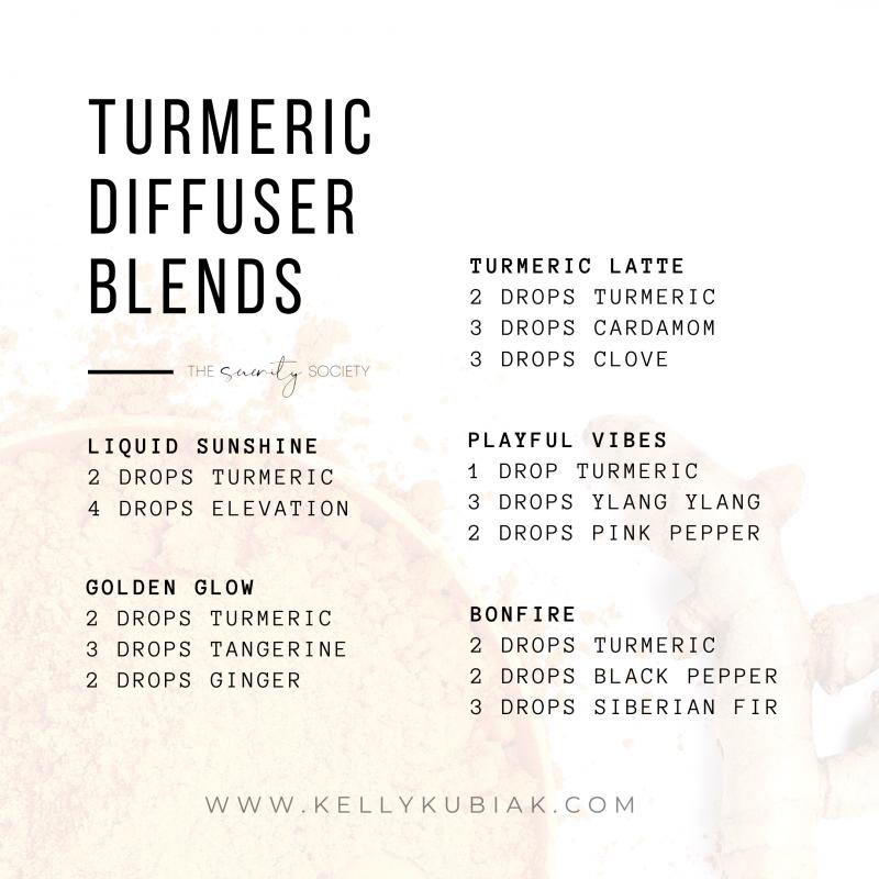doTERRA Turmeric Diffuser Blends