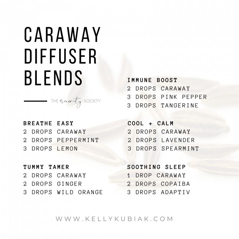 Caraway Diffuser Blends