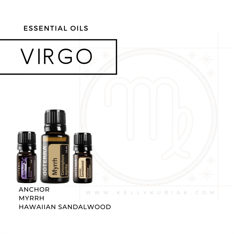 doTERRA Essential Oils for Virgo Season