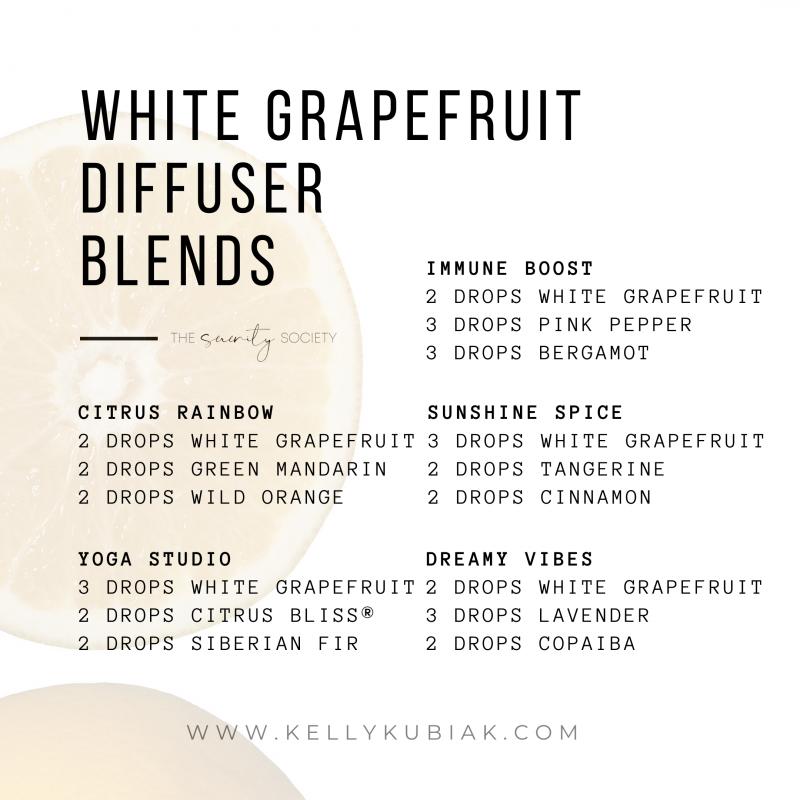 White Grapefruit Diffuser Blends