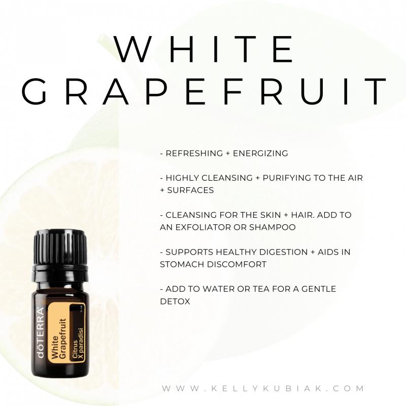 White Grapefruit doTERRA