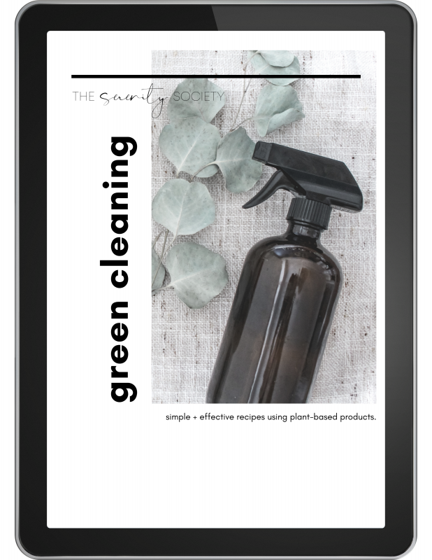 Green Cleaning eBook doTERRA Essential Oils