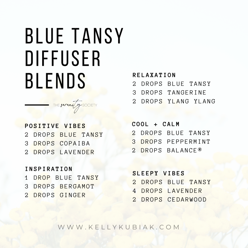 doTERRA Blue Tansy Diffuser Blends